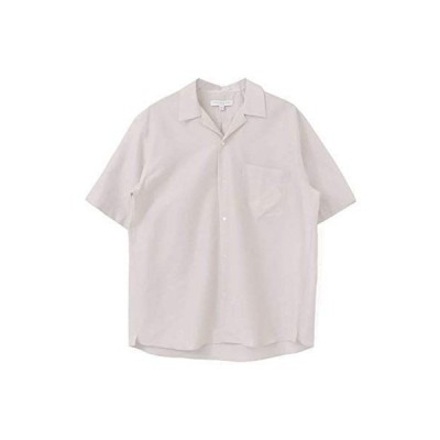[アーバンリサーチ] ワイシャツ コットンシルクショートスリーブオープンカラーシャツ メンズ UR05-13M004 grege M