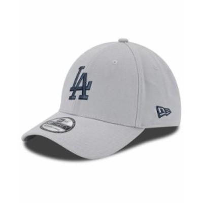 ニューエラ メンズ 帽子 アクセサリー Los Angeles Dodgers Core Classic 39THIRTY Cap Gray