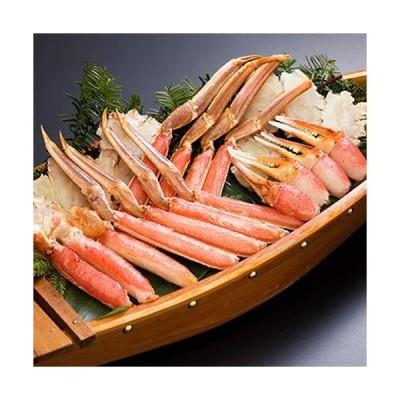 海鮮蟹工房 ズワイガニ カット済 ビードロセット 1.2kg