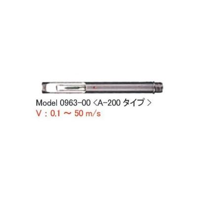 日本カノマックス 0965-21 風速風温球状プローブ 球状タイプ オプション