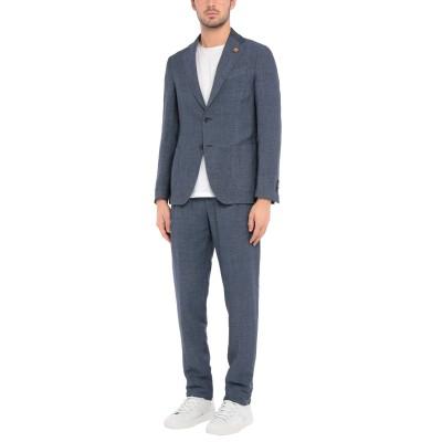 ラルディーニ LARDINI スーツ ブルー 54 リネン 61% / 指定外繊維(テンセル)® 39% スーツ