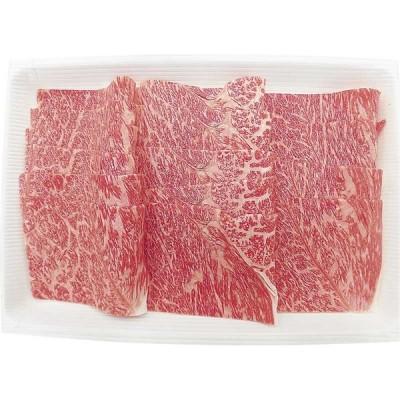 お中元・夏ギフト 「顔が見えるお肉。」とちぎ霧降高原牛肩薄切焼肉用 STK-460