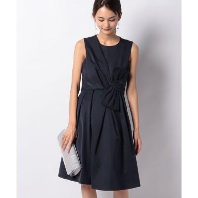 【インタープラネット】サテンブックリボンドレス