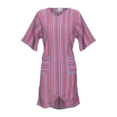 VIKI-AND ミニワンピース&ドレス パープル 40 コットン 80% / アセテート 20% ミニワンピース&ドレス