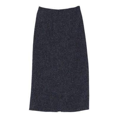 ユアーズ ur's ツイードタイトスカート (ネイビー)