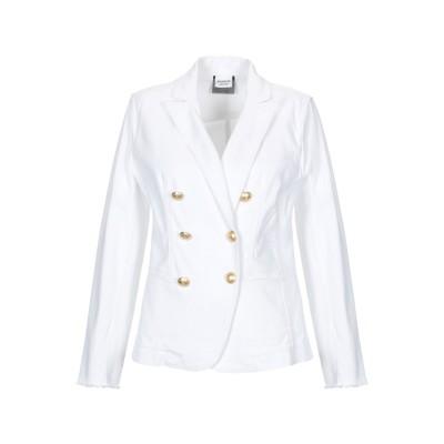 PINKO UNIQUENESS テーラードジャケット ホワイト 40 コットン 98% / ポリウレタン 2% テーラードジャケット