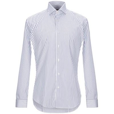ブライアン デールズ BRIAN DALES シャツ ホワイト 42 コットン 100% シャツ