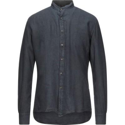タケシ クロサワ TAKESHY KUROSAWA メンズ シャツ トップス linen shirt Dark blue