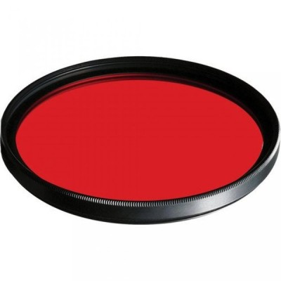 メモリ B + W 55mm #090 Glass Filter - Light Red #25