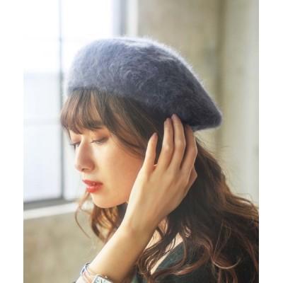 GeeRA / フェイクファーベレー帽 WOMEN 帽子 > ハンチング/ベレー帽