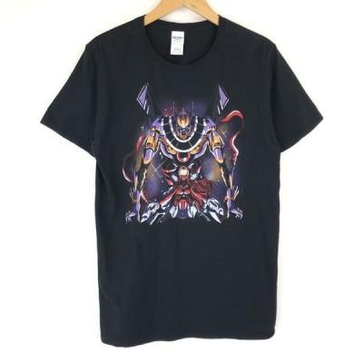 AKIBENTO ANIME UNIVERSE アニメTシャツ 海外限定品 エヴァンゲリオンインスパイアード ブラック系 メンズM