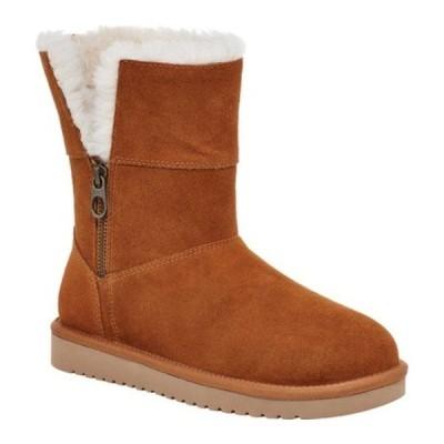 アグ ブーツ&レインブーツ シューズ レディース Aribel Short Mid Calf Boot (Women's) Chestnut Suede