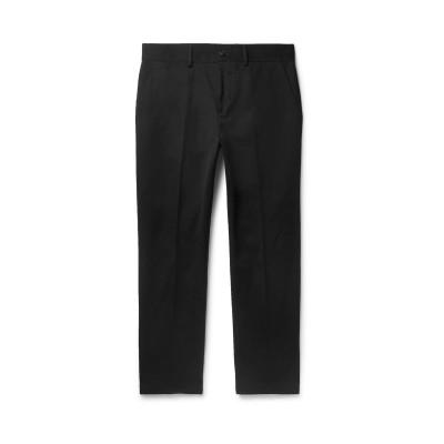 BURBERRY パンツ ブラック 58 コットン 73% / ポリエステル 27% パンツ