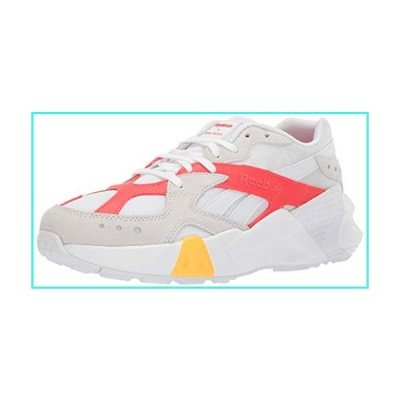 【新品】Reebok Unisex Adult's  Aztrek Shoes, White/Grey/Red/Gold, 12 M(並行輸入品)