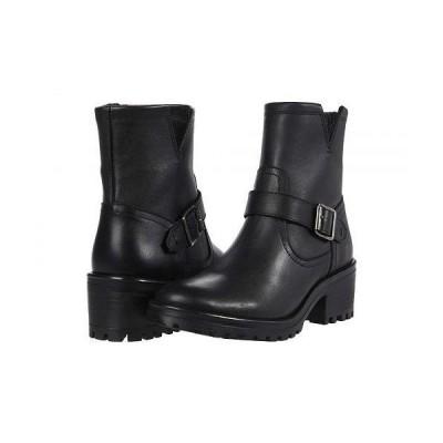 Steve Madden スティーブマデン レディース 女性用 シューズ 靴 ブーツ ライダーブーツ Grotto Booties - Black Leather