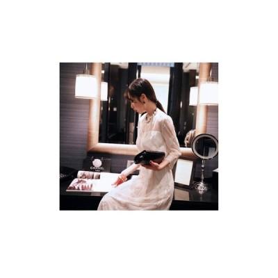 パーティードレス ミモザ丈スカート 透け感 大人 レディース ワンピース 結婚式 二次会 お呼ばれドレス kh-0135