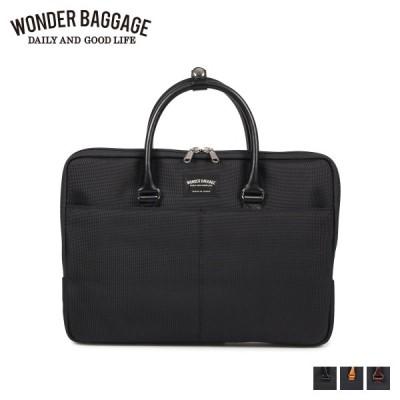 WONDER BAGGAGE ワンダーバゲージ バッグ ビジネスバッグ ブリーフケース グッドマンズ メンズ GOODMANS SMALL BRIEF BAG WB-G-016