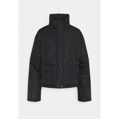 ヌー イン ジャケット&ブルゾン レディース アウター SHORT PUFFER JACKET - Light jacket - black