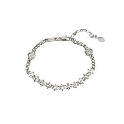 Rebecca Minkoff レベッカミンコフ レディース 女性用 ジュエリー 宝飾品 ブレスレット Stone Bracelet - Silver