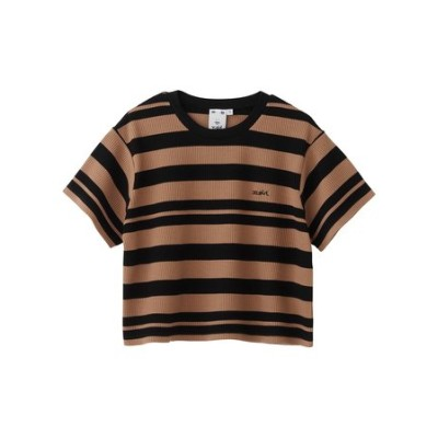 STRIPED S/S TOP