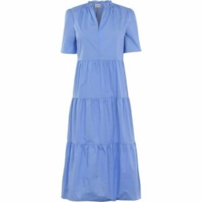 バイ マレーネ ビルガー BY MALENE BIRGER レディース ワンピース ワンピース・ドレス Alania Dress Blue Iris T