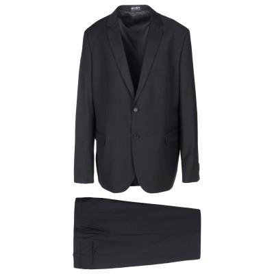 PEPENERO スーツ ブラック 58 ポリエステル 70% / レーヨン 30% スーツ