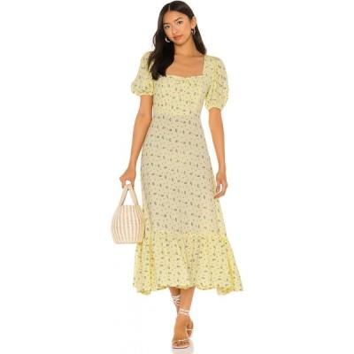 フェイスフルザブランド FAITHFULL THE BRAND レディース ワンピース ミドル丈 ワンピース・ドレス Gabriela Midi Dress La Somita Floral