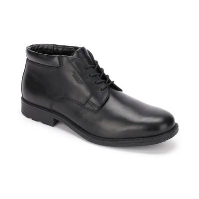 ロックポート メンズ ブーツ・レインブーツ シューズ Men's Essential Details Waterproof Chukka Dress Boots