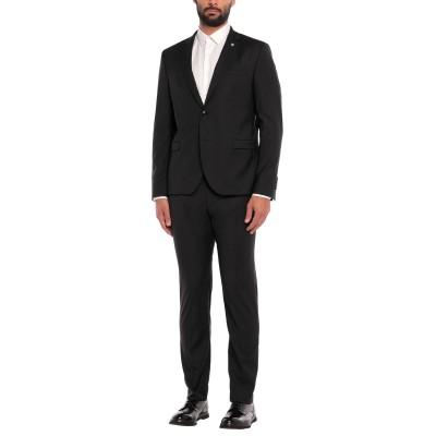 マニュエル リッツ MANUEL RITZ スーツ ブラック 54 ポリエステル 53% / バージンウール 44% / ポリウレタン 3% スーツ