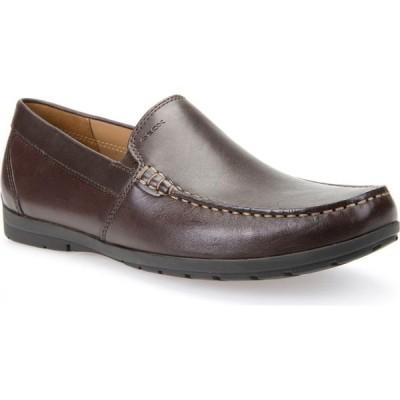 ジェオックス GEOX メンズ ローファー シューズ・靴 Simon W2 Venetian Loafer Brown Leather