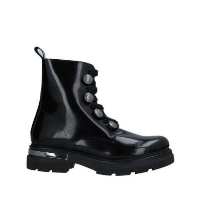 STELE ショートブーツ ファッション  レディースファッション  レディースシューズ  ブーツ  その他ブーツ ブラック