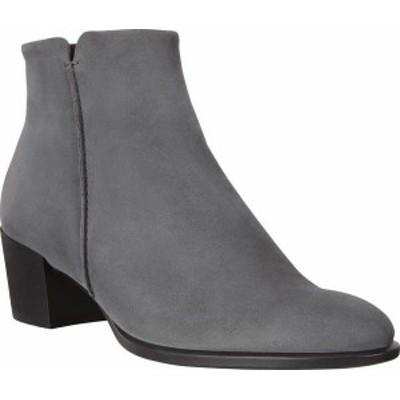 エコー レディース ブーツ・レインブーツ シューズ Women's ECCO Shape 35 Stitch Ankle Boot Magnet Nubuck/Leather