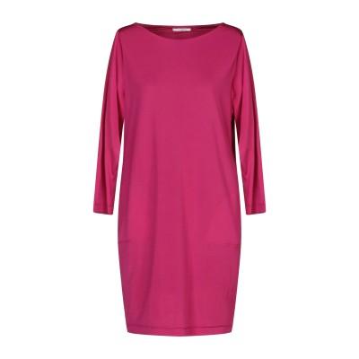 BIANCOGHIACCIO ミニワンピース&ドレス ガーネット S アセテート 95% / ポリウレタン 5% ミニワンピース&ドレス
