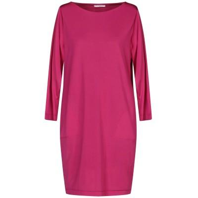BIANCOGHIACCIO ミニワンピース&ドレス ガーネット XL アセテート 95% / ポリウレタン 5% ミニワンピース&ドレス