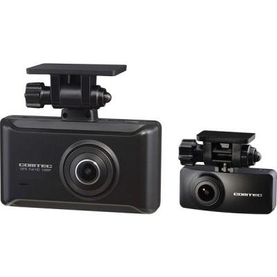 コムテック 前後2カメラ ドライブレコーダー ZDR025 前後200万画素 Full HD ノイズ対策済 夜間画像補正 SONY製CMOSセンサー搭載 LED信号対応 専用microSD(32GB)