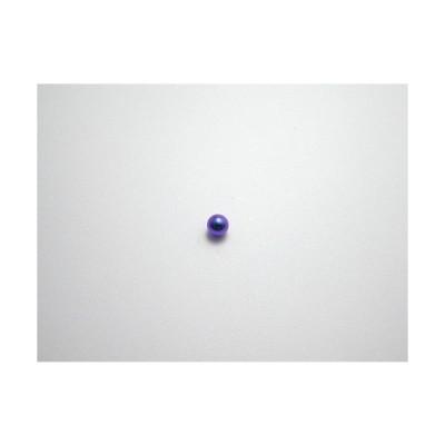 新潟 燕三条 純チタンピアス 片耳 球φ3.0 バイオレット  金属アレルギーの方も安心