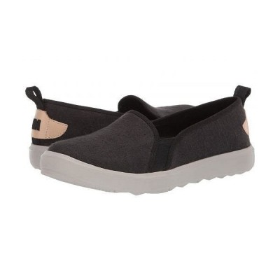 Merrell メレル レディース 女性用 シューズ 靴 スニーカー 運動靴 Around Town Ada Moc Canvas - Black