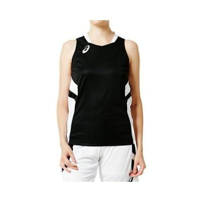 ネコポス対応 アシックス/asics レディース バスケットボール ゲームシャツ 2062A016 パフォーマンスブラック(001)