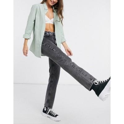 フレンチコネクション レディース デニムパンツ ボトムス French Connection Roder flicker mom jeans in black Black