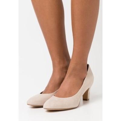 タマリス レディース ヒール シューズ Classic heels - ivory ivory
