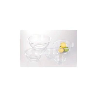 iwaki イワキ 耐熱ガラス ボウル 5点 セット ギフト ガラス 入れ子 レンジ オーブン 丸型 熱湯 2.5L 大容量 熱 透明 クリア 中が見える 清潔 収納