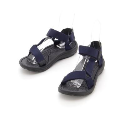 【大きいサイズ】<3E相当>快適な履き心地のスポーツサンダル 大きいサイズ シューズ(靴) レディース