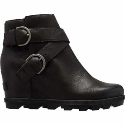 ソレル Sorel レディース ブーツ シューズ・靴 Joan Of Artic Wedge II Buckle Boot Black