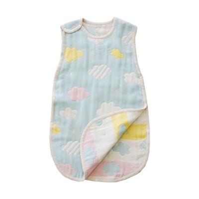 サンデシカ ふわふわ6重ガーゼ スリーパー Mサイズ(新生児~3歳頃) くも 3340-9999-52 赤ちゃん
