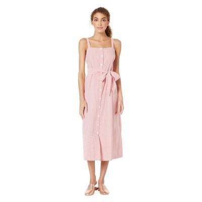 マイケルスターズ レディース ワンピース トップス Pacifica Stripe Raina Button Front Dress
