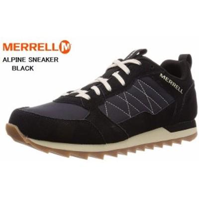 (メレル)MERRELL Alpine Sneaker J003001 J16695 カジュアルクラシカルレトロスニーカー シンプルなデザインの中にメレル独自の機能を搭