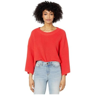 ビービーダコタ レディース ニット・セーター アウター Oversized Rib Knit Sweater