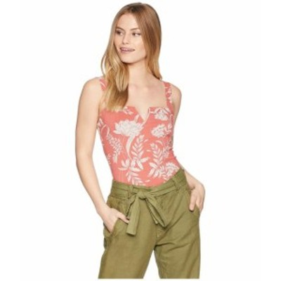 Free People フリーピープル 服 一般 Pippa V-Wire Printed Bodysuit