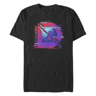 フィフスサン メンズ Tシャツ トップス Men's Digital D Logo Short Sleeve Crew T-shirt