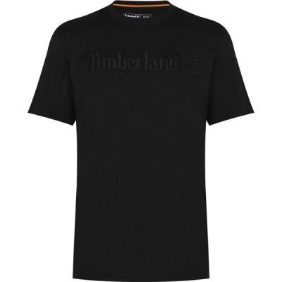 ティンバーランド Timberland メンズ Tシャツ トップス Outdoor Heritage T Shirt Black
